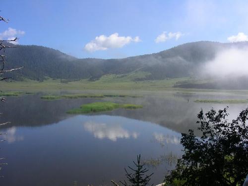 云南香格里拉普达措国家森林公园