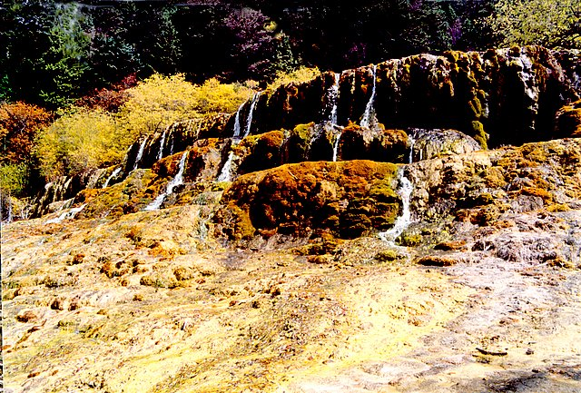 四川黄龙风景区图片