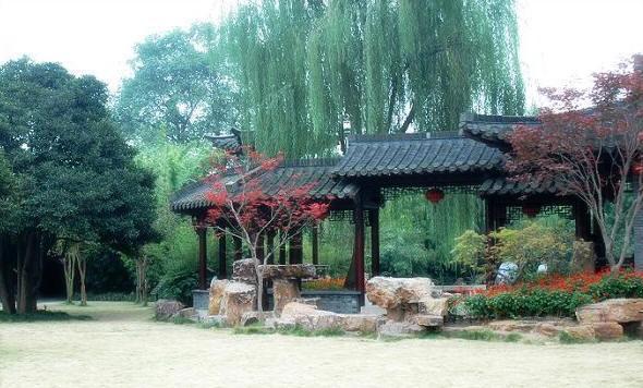 扬州个园图片