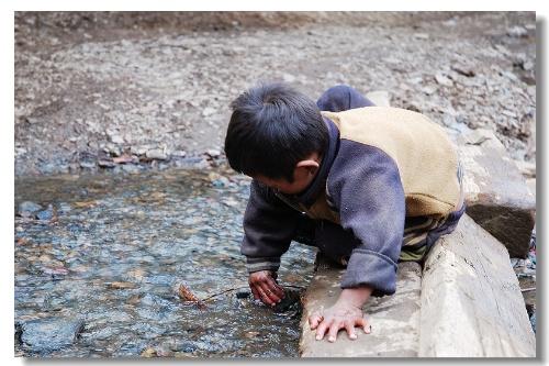 雨崩村的孩子