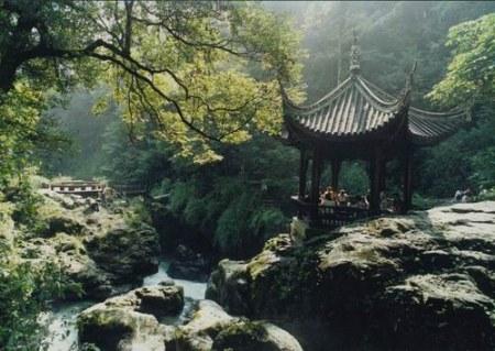 双桥清音_峨眉山10大景观