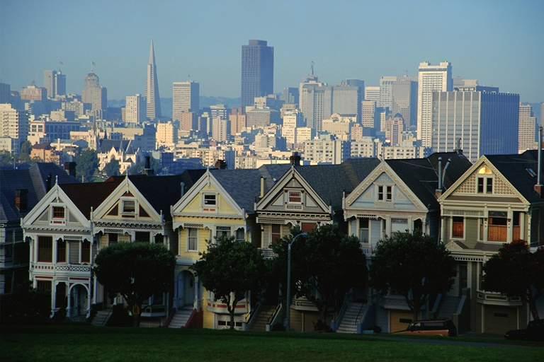 美国旧金山风光