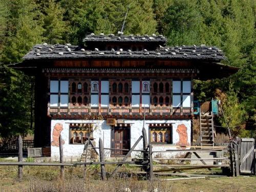 不丹王国图片