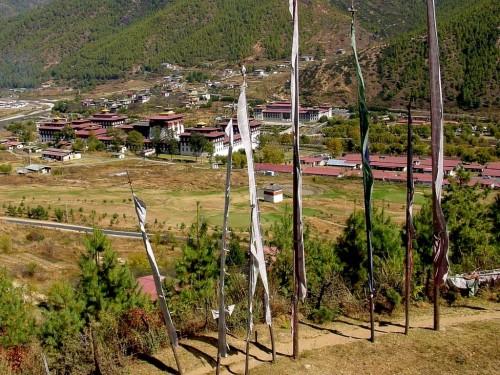 不丹风光图片