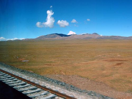 图片:青藏铁路沿途风景