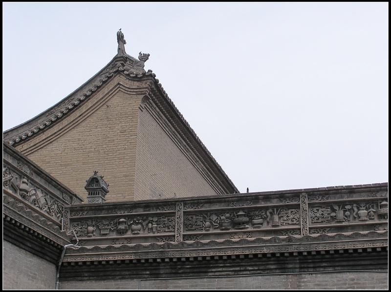 山西乔家大院图片