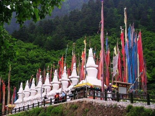 九寨沟旅游风光图片-美景旅游网