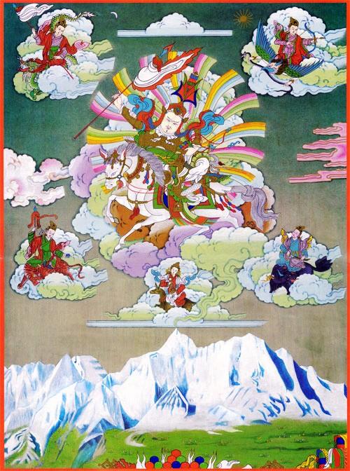 图片:阿尼玛卿神山的传说