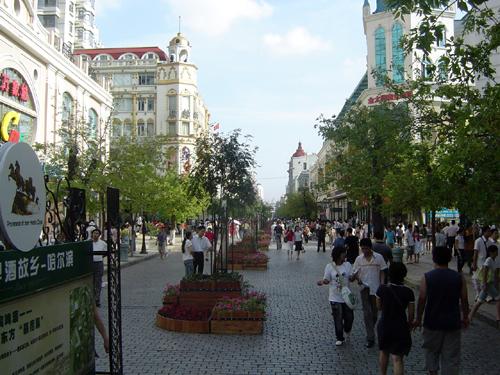 中央大街图片 - 哈尔滨景点图片