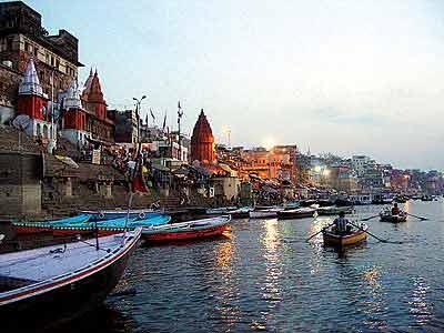 风光 印度/图片:印度恒河风光...