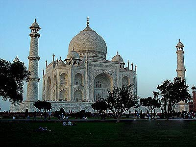 印度泰姬陵风光