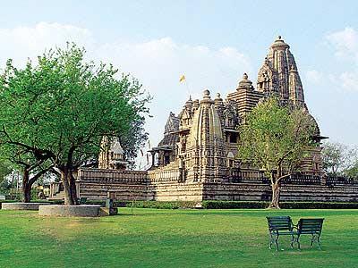 印度卡修拉霍性庙图片