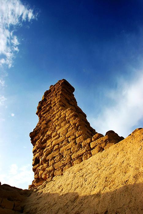 图片:新疆高昌古城