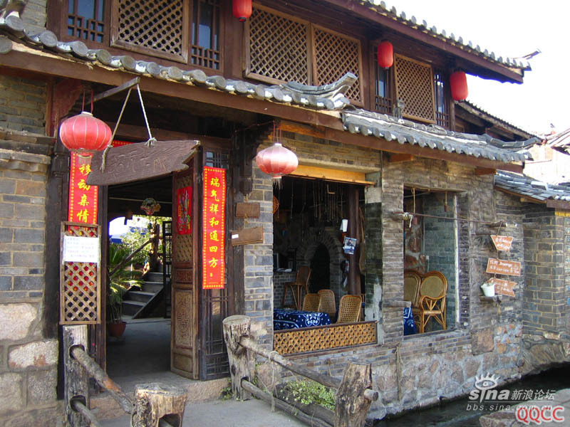 图片:丽江束和古镇酒吧