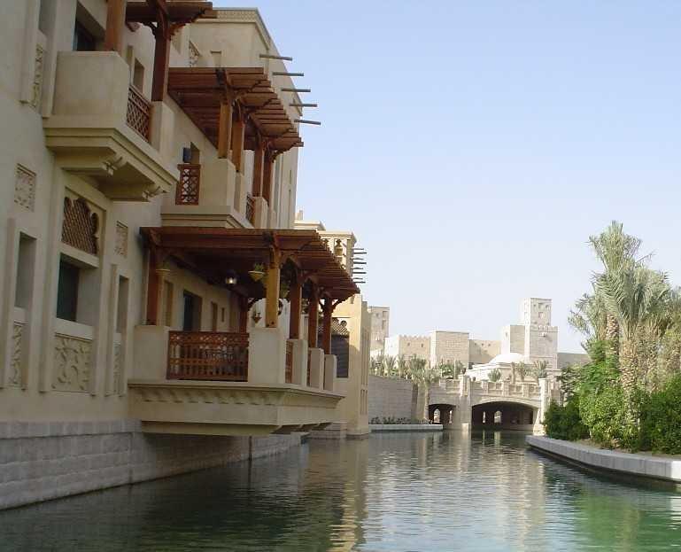 图片:迪拜棕榈岛-新版威尼斯水城
