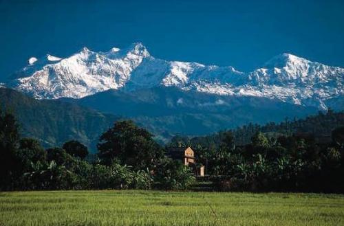 尼泊尔风光图片:安纳普尔纳山