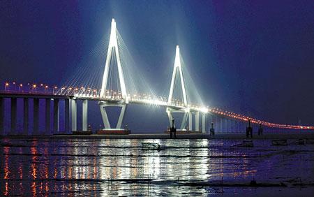 世界第一跨海大桥:杭州湾大桥-游吧-鱼儿-我酷网Woku.com - . - .