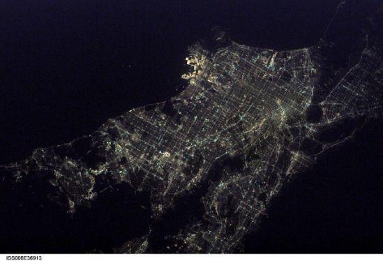 国际空间站十佳地球图片:洛杉矶美丽夜景