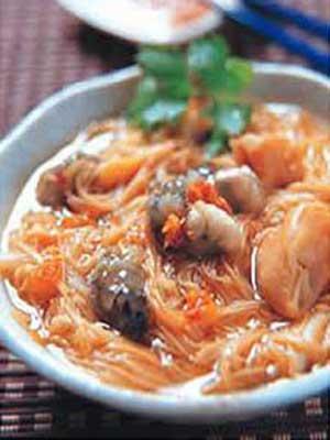 台湾美食图片:台北特色小吃-阿宗面线