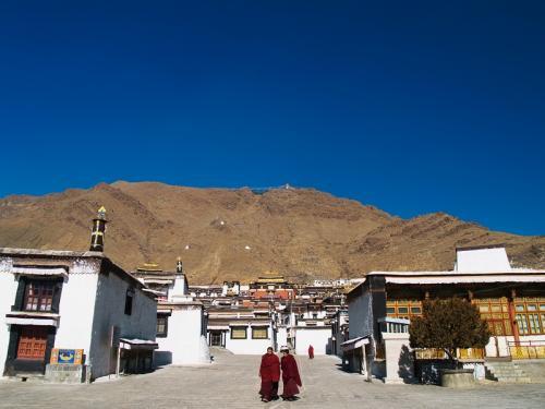 图片:日喀则扎什伦布寺