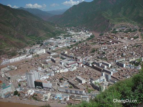 图片:西藏昌都镇
