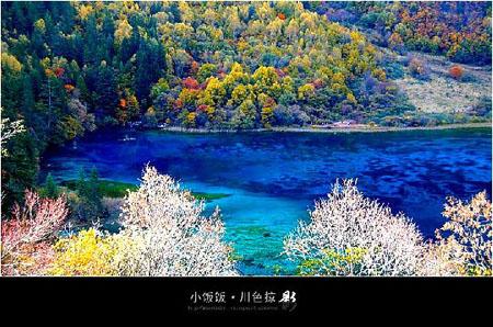 九寨沟风景-秋韵美景