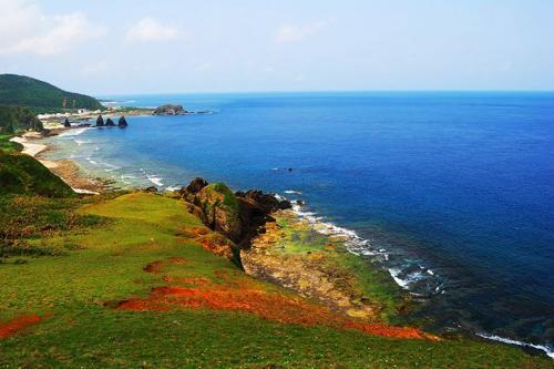 台湾旅游景点图片:绿岛