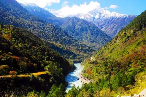 西藏秋季风光图片