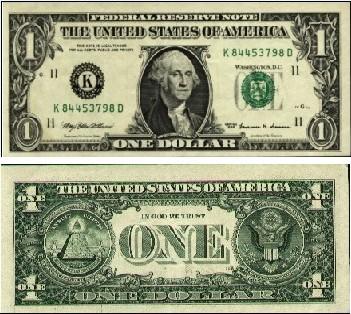 1美元图片