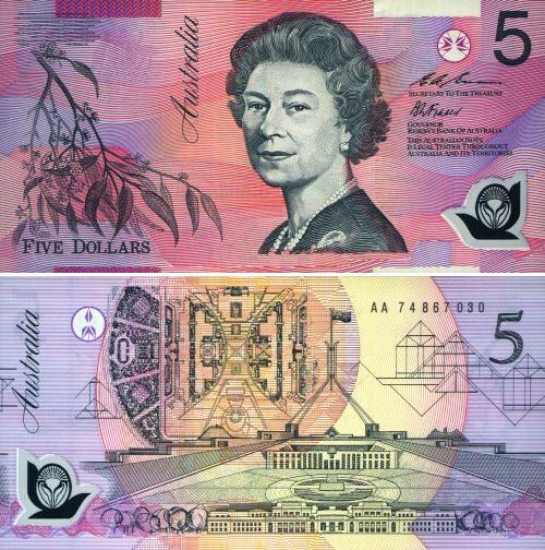 澳大利亚元图片-5澳元