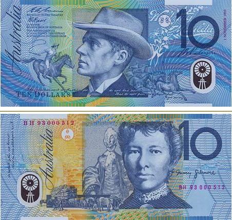 澳大利亚元图片10澳元
