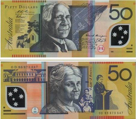 澳大利亚元图片50澳元