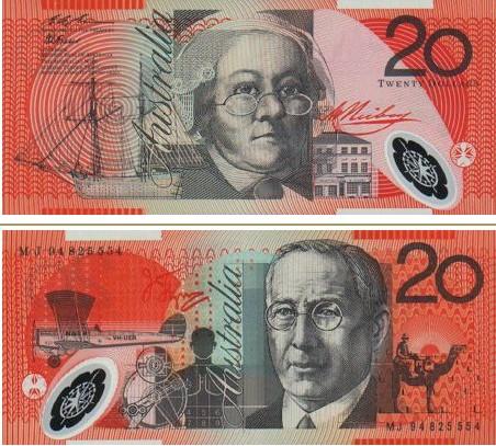 澳大利亚元图片20澳元