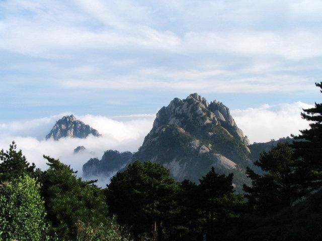 中国风景名胜-黄山风景图片