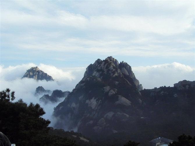 黄山风景-黄山云海图片