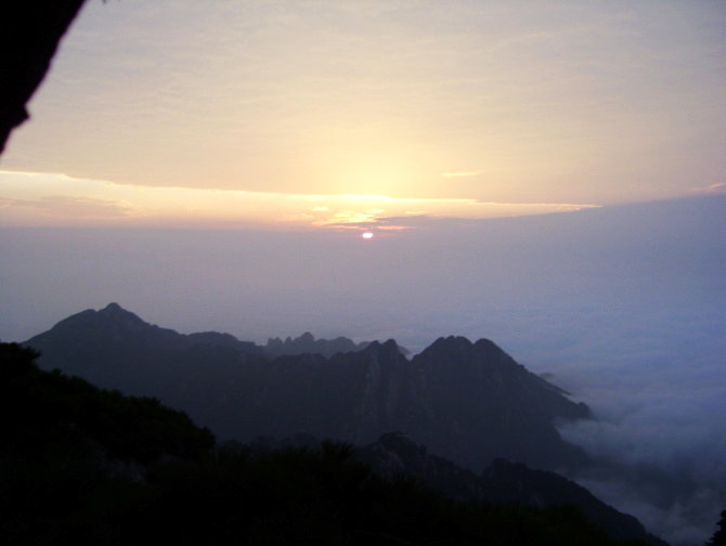 Yh >> 中国风景图片:黄山云海(2) - 安徽黄山图片欣赏 - 美景旅游博客