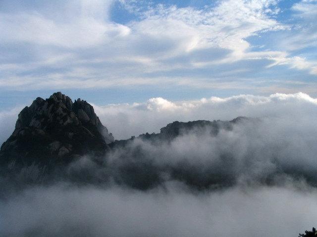 安徽黄山风景-黄山云海图片