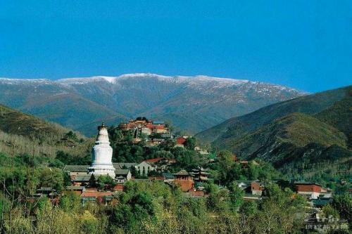 中国四大佛教名山图片-五台山
