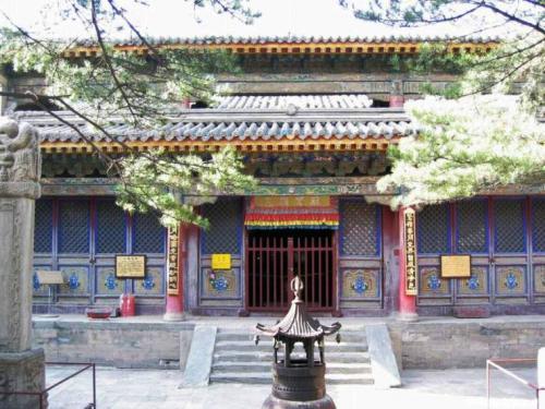 图片:五台山罗睺寺