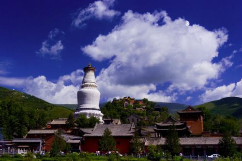 图片:中国四大佛教圣地-五台山