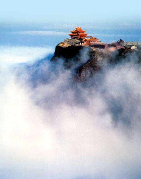 中国四大佛教名山-峨眉山
