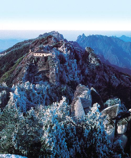 中国四大佛教名山-九华山