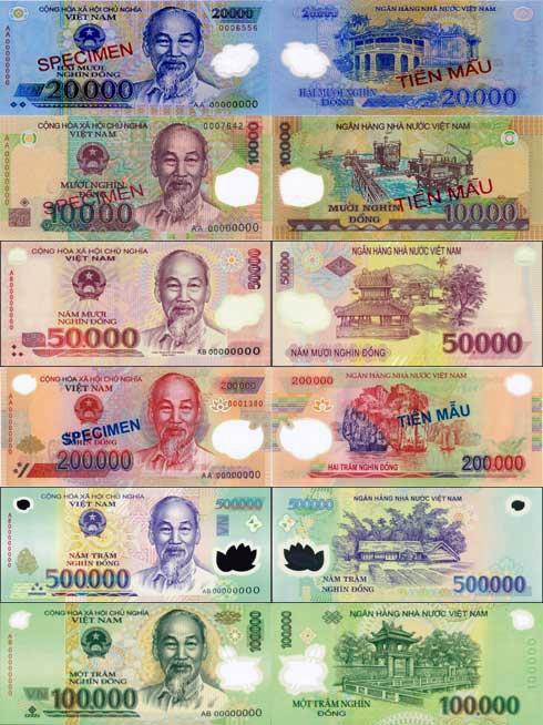 越南货币-越南盾图片