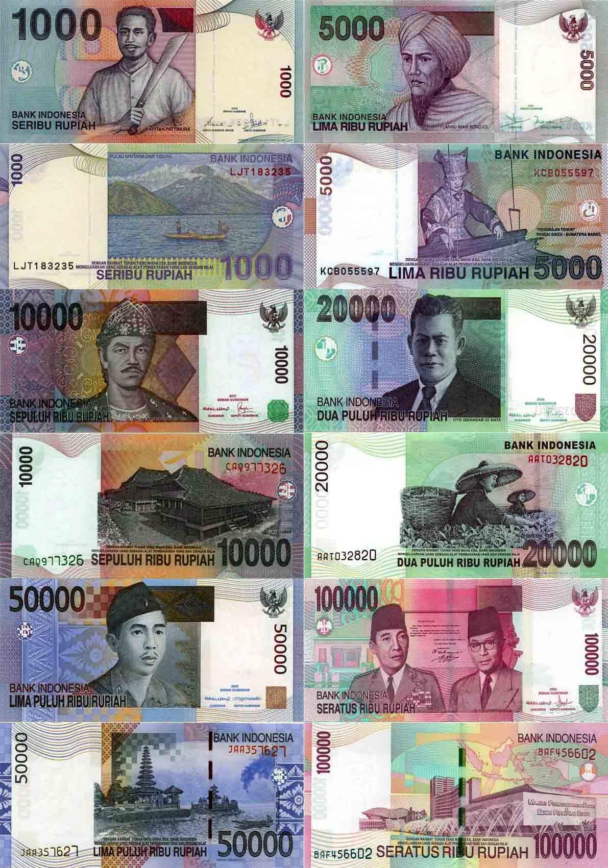 印度尼西亚货币-印尼盾图片