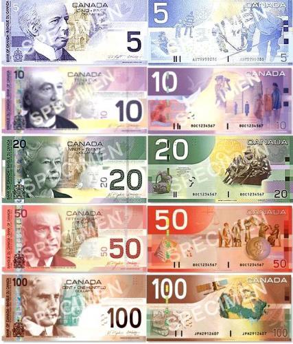 加拿大货币-加拿大图片