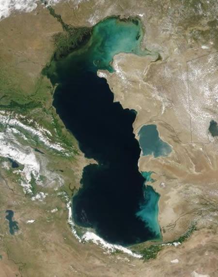 俄罗斯里海:世界最大湖