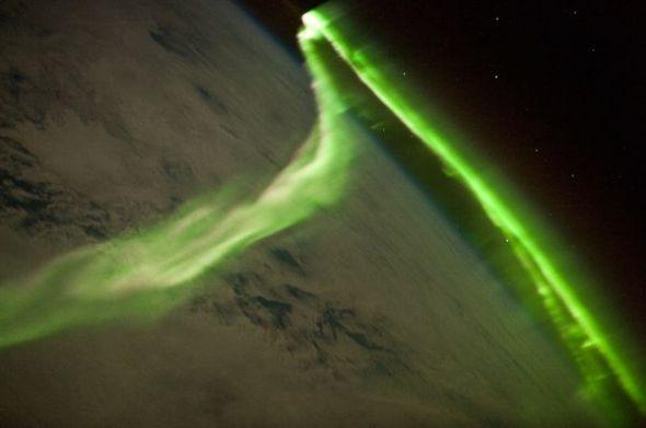 南极光图片