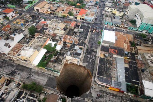 危地马拉天坑图片