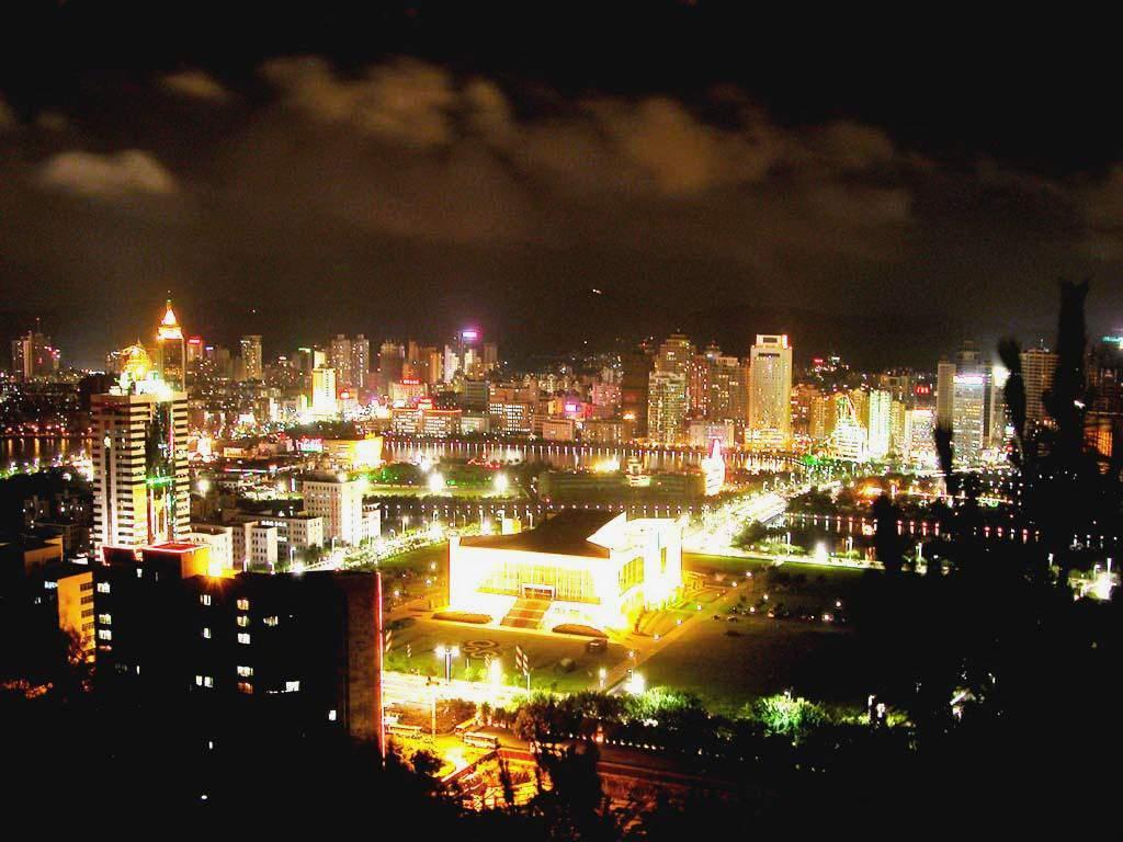 图片:春节旅游好去处-厦门夜景