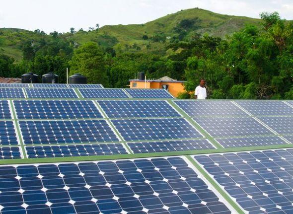 太阳能为震后海地带来光明